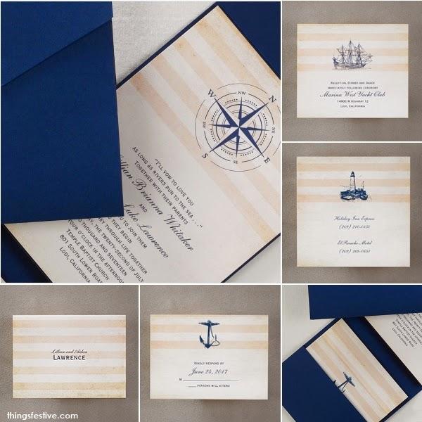 Nautical Wedding Invitations Destination Love Things Festive Weddings Am