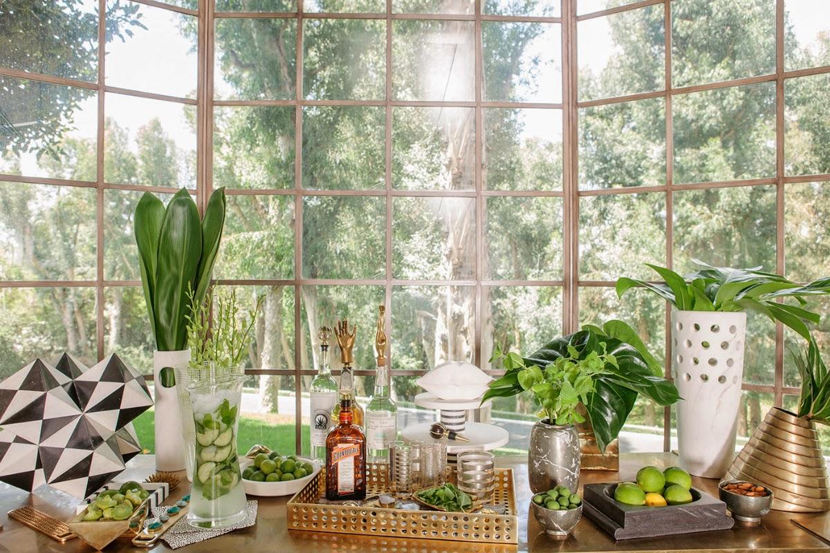kelly wearstler,californie,marbre,vert,cocktails,eye swoon,cuisine