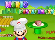 juegos de mario bros mario restaurants