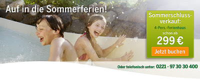 Center Parcs Sommerangebote