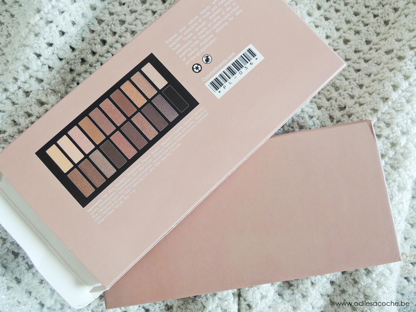 packaging back revealed palette