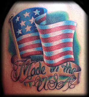 american tattoos men