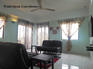 Wadi Iman Guesthouse, family area, hall, guesthouse, homestay, Shah Alam