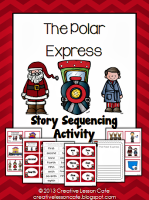 Creative Lesson Cafe: The Polar Express Story Sequencing Giveaway