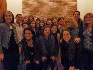 Trainees from Argentina and Chile