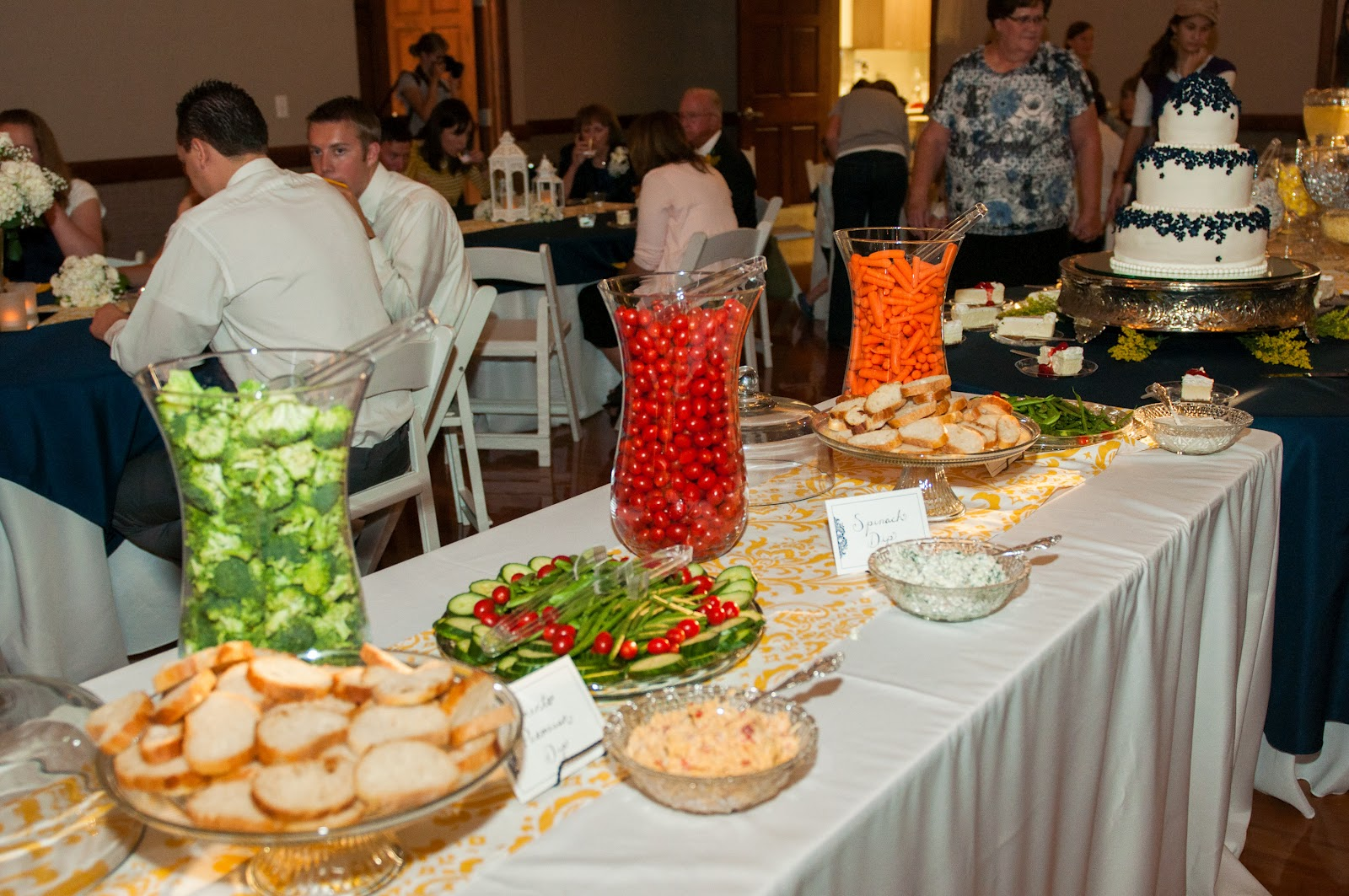 Our forever familee wedding food what and how much for Best food for wedding reception