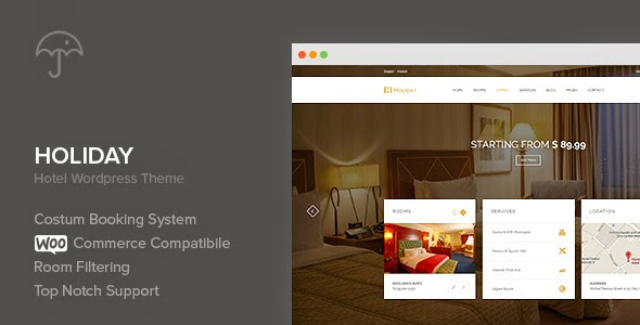 Premium Hotel WordPress Theme