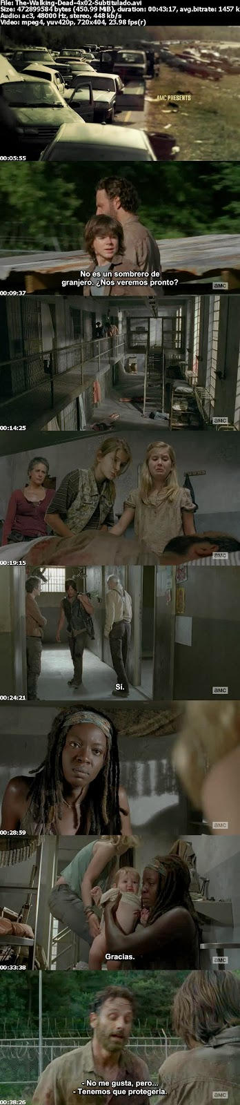 The Walking Dead 4×02 Infected [HDTV][Sub.Español Pegados] (peliculas hd )