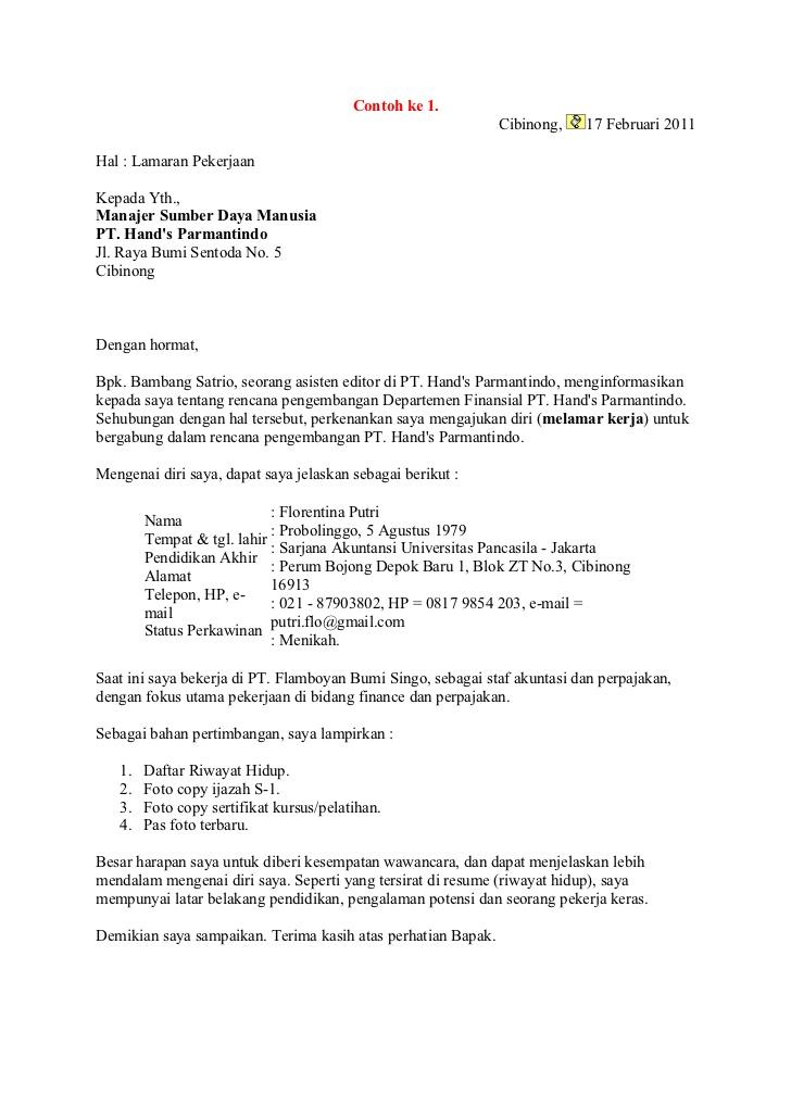 Surat Resign Kerja Bank Mandiri Surat Kerja B