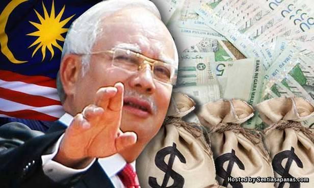 Najib2.6 bilion