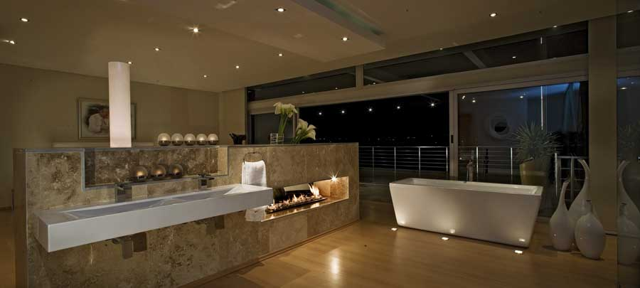 Lavish modern home in johannesburg south africa luxury for Modern bathrooms south africa