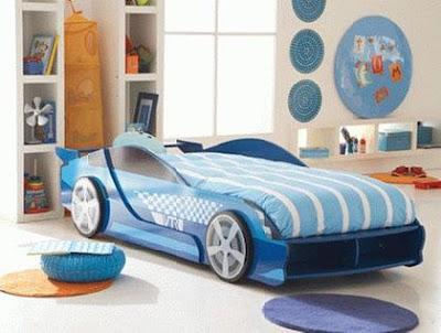 cama de coche niños
