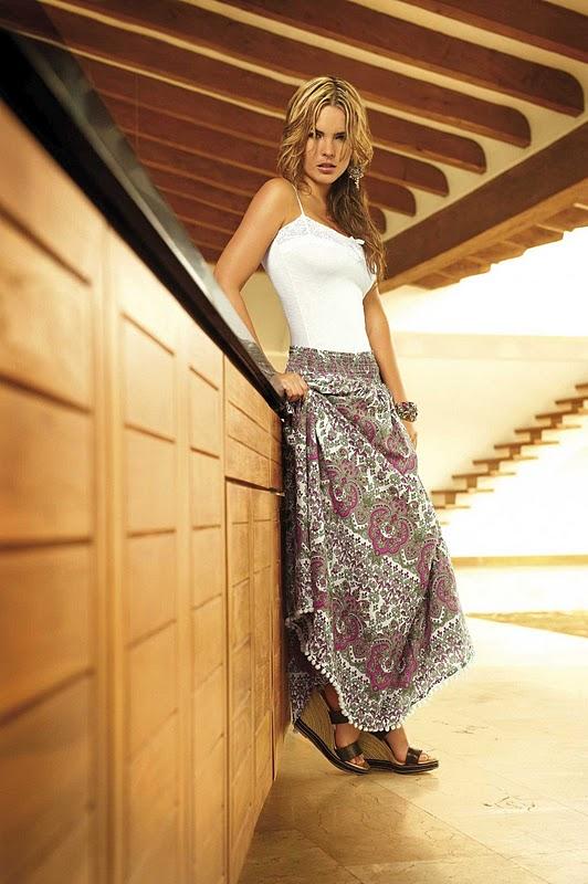 Colombian Model Melissa Giraldo