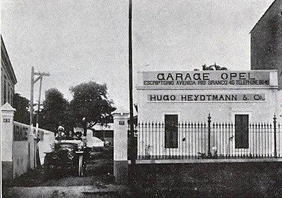 Just a car guy 1912 opel dealership and garage for Garage ava auto gap