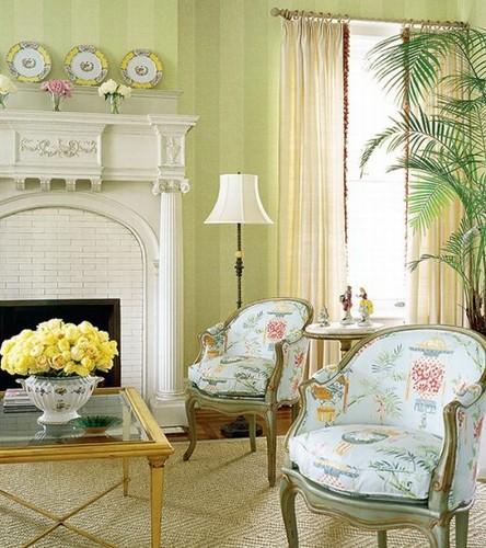 decoracao interiores estilo frances:Decoração e Ideias – casa e jardim: 10 Salas em estilo Francês