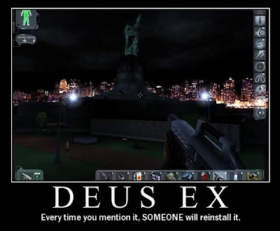 deus ex demotivational