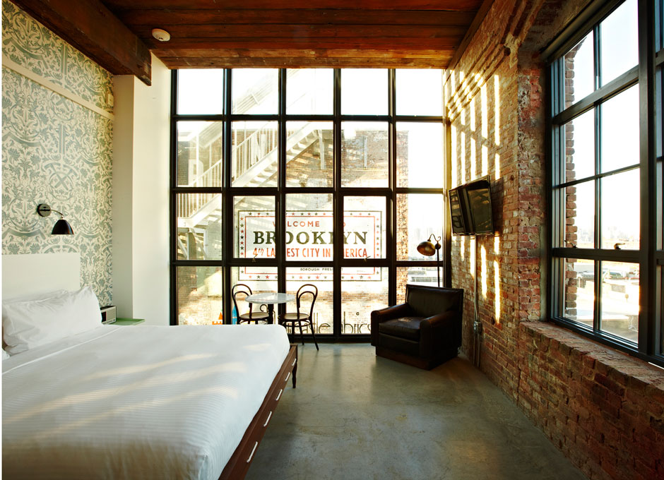 Fresh Twist Travel Tuesday Loft Style Hotel In Brooklyn