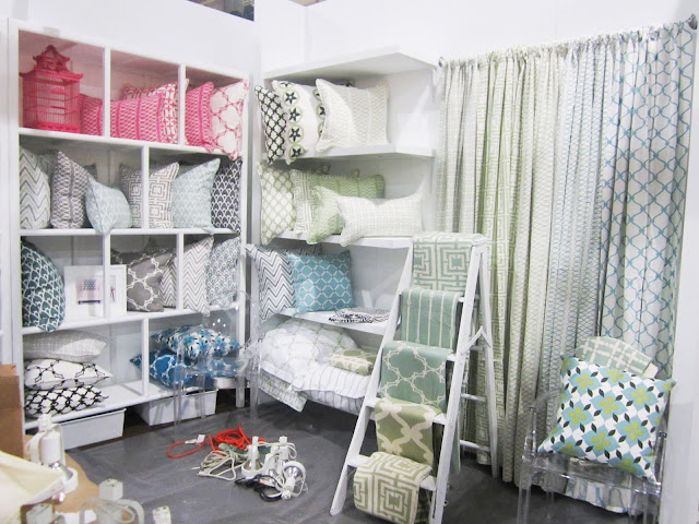 COCOCOZY booth in progress at the New York International Gift Fair