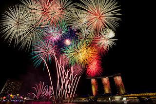 Gambar Kembang Api Tahun Baru Indah 2016 Fireworks Happy New Year Wallpaper HD