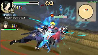 Naruto Shippuden Ultimate Ninja Impact cso