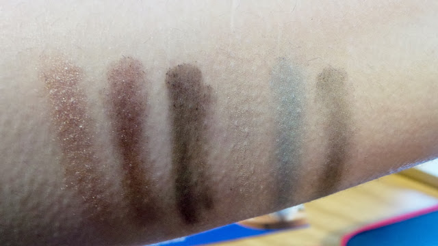 boots eyeshadow swatches