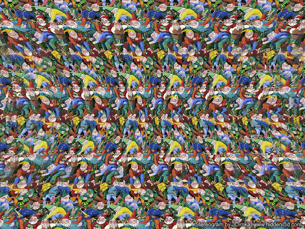 Magic porn stereograms eye
