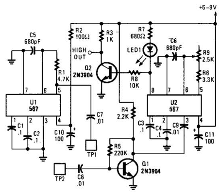 Generator Circuit Diagram