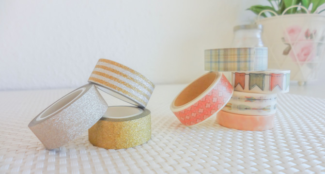 lovely Washi Tapes