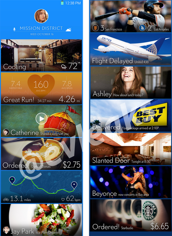 Samsung Galaxy S5 Home Screen