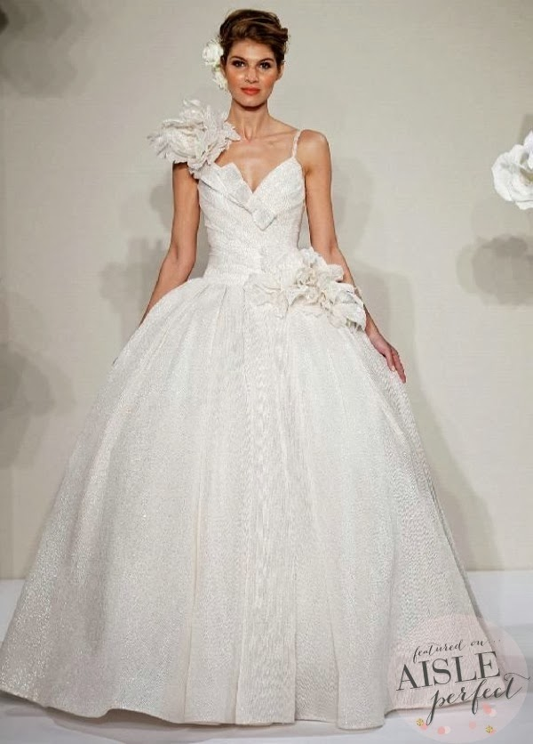 Wedding dresses pnina tornai 2013 collection aisle perfect for Kleinfeld wedding dress designers