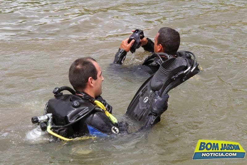 do afogamento de duas crianças na zona rural, Barragem de Pedra Fina