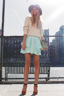 mint green saia
