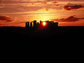 Stonehenge at Sunset, Wiltshire, England HQ Wallpapers