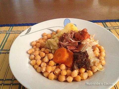 El Cocido: plato típico español