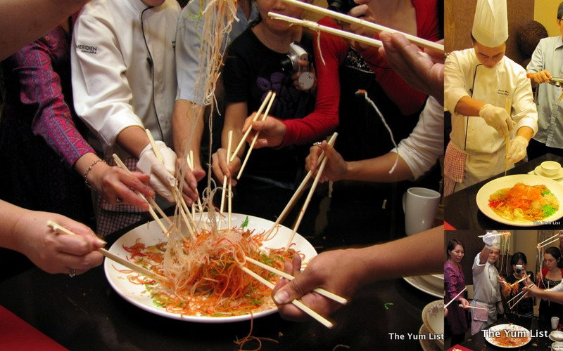 Latest recipe chinese new year buffet le meridien kl sentral tossing the yee sang for prosperity forumfinder Images