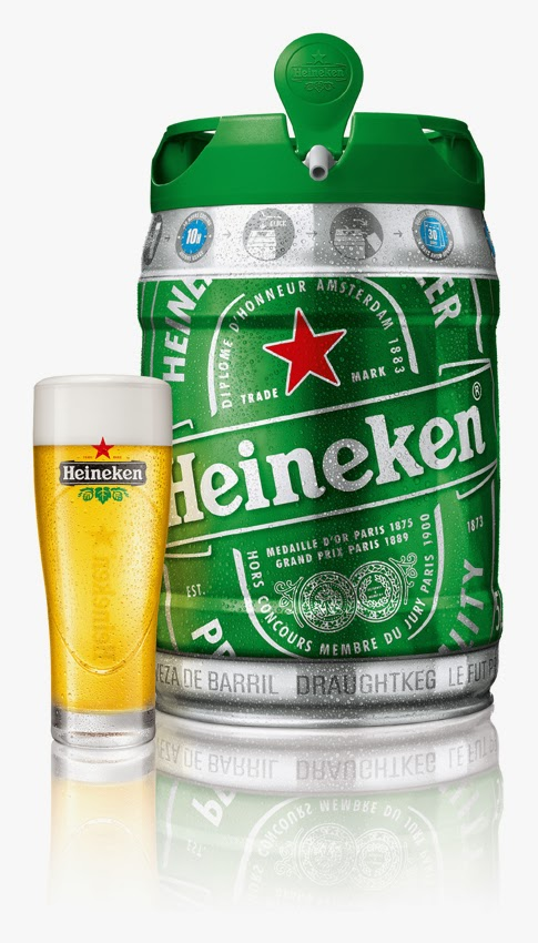 The Heineken DraughtKeg