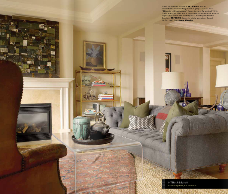 Brian Paquette Interiors Bp In Gray Magazine Oct Nov
