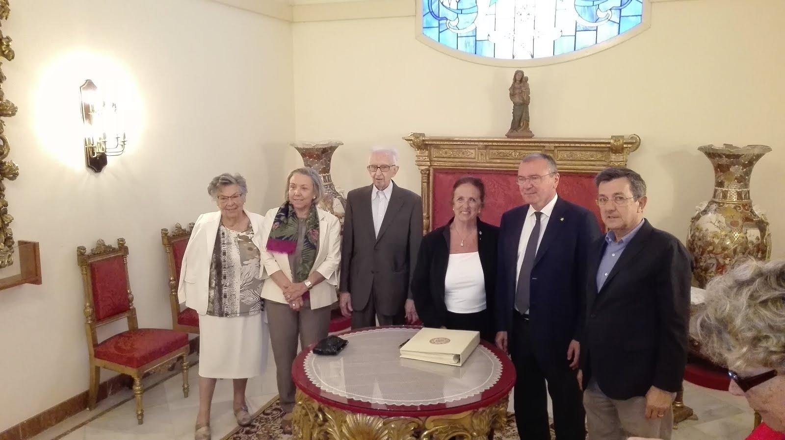 """Peregrinació dels """"Amics de Gaudí"""""""