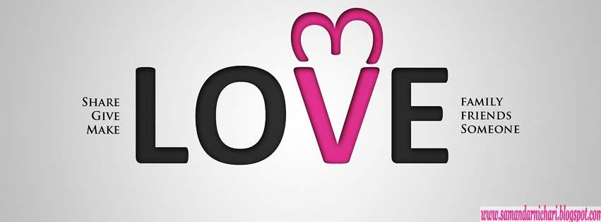 غلاف فيس بوك حب