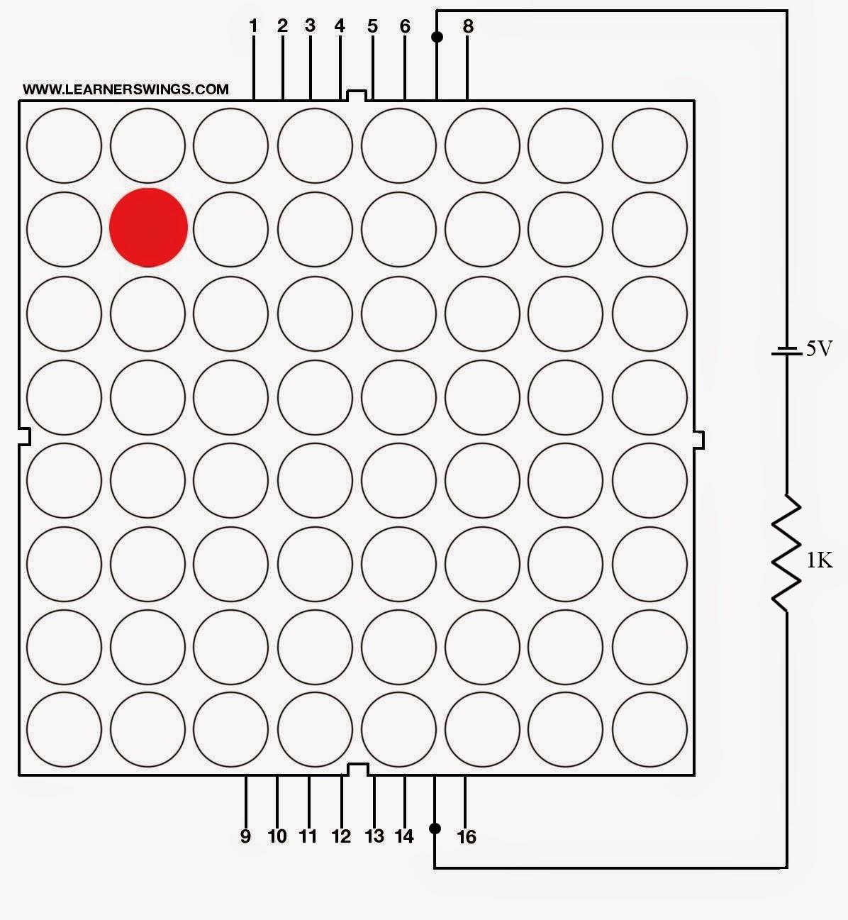 funny electronics  8 8 led matrix