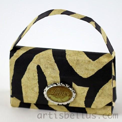 Origami Accessories: Handbag