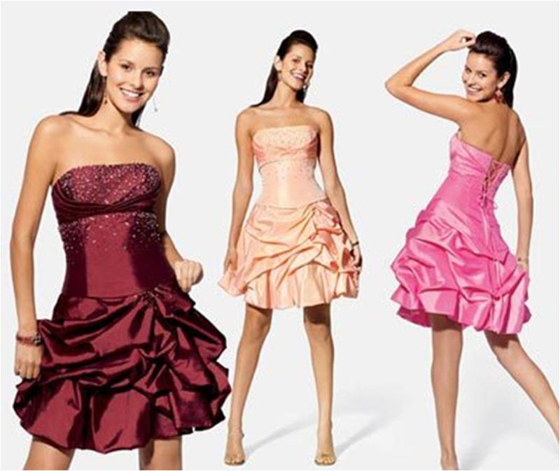 Vestido de festa curto é elegância e beleza no visual