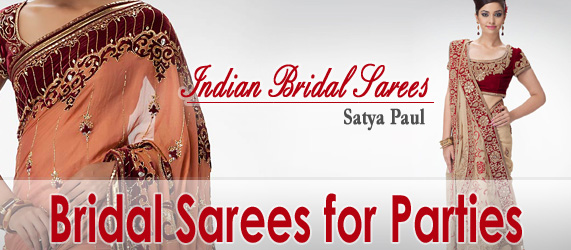 Bridal Sarees | Indian Bridal Sarees | Bridal Sarees for Parties | Bridal Party Wear Sarees