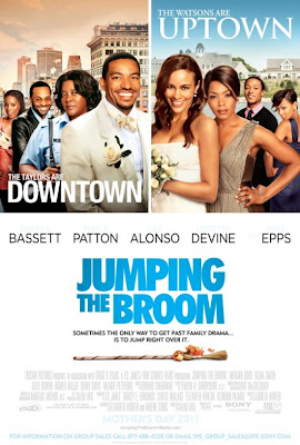 Watch Jumping the Broom 2011 BRRip Hollywood Movie Online | Jumping the Broom 2011 Hollywood Movie Poster