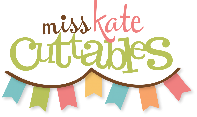 Miss Kate Cuttables GOING BANANAS TREAT BOX amp CARD