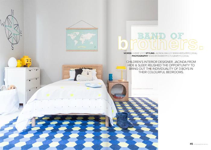 Boy's room created by Jacinda Malloy - Hidesleep