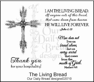 Our Daily Bread Designs Stamps The Living Bread