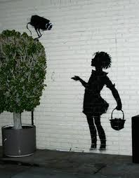 > Banksy says: