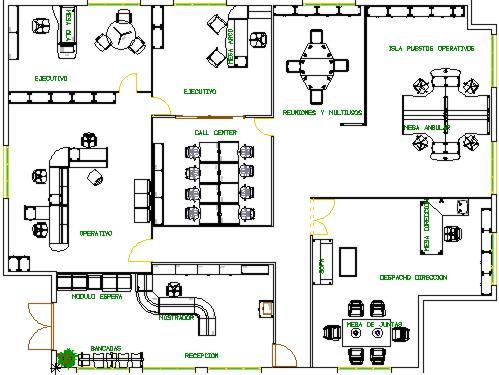 Profeleonor plan de evaluacion y plano de una oficina for Diseno de oficinas pequenas planos