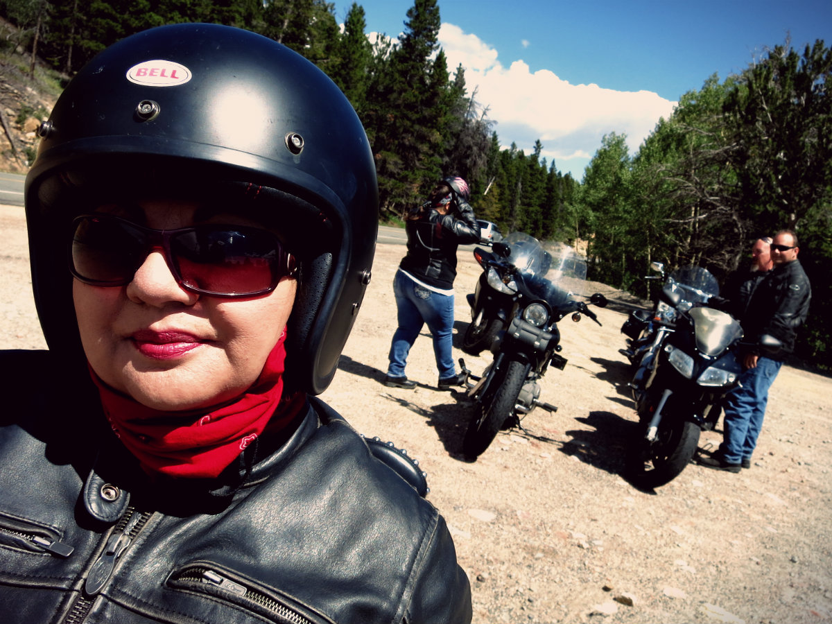 cool motorcycle people